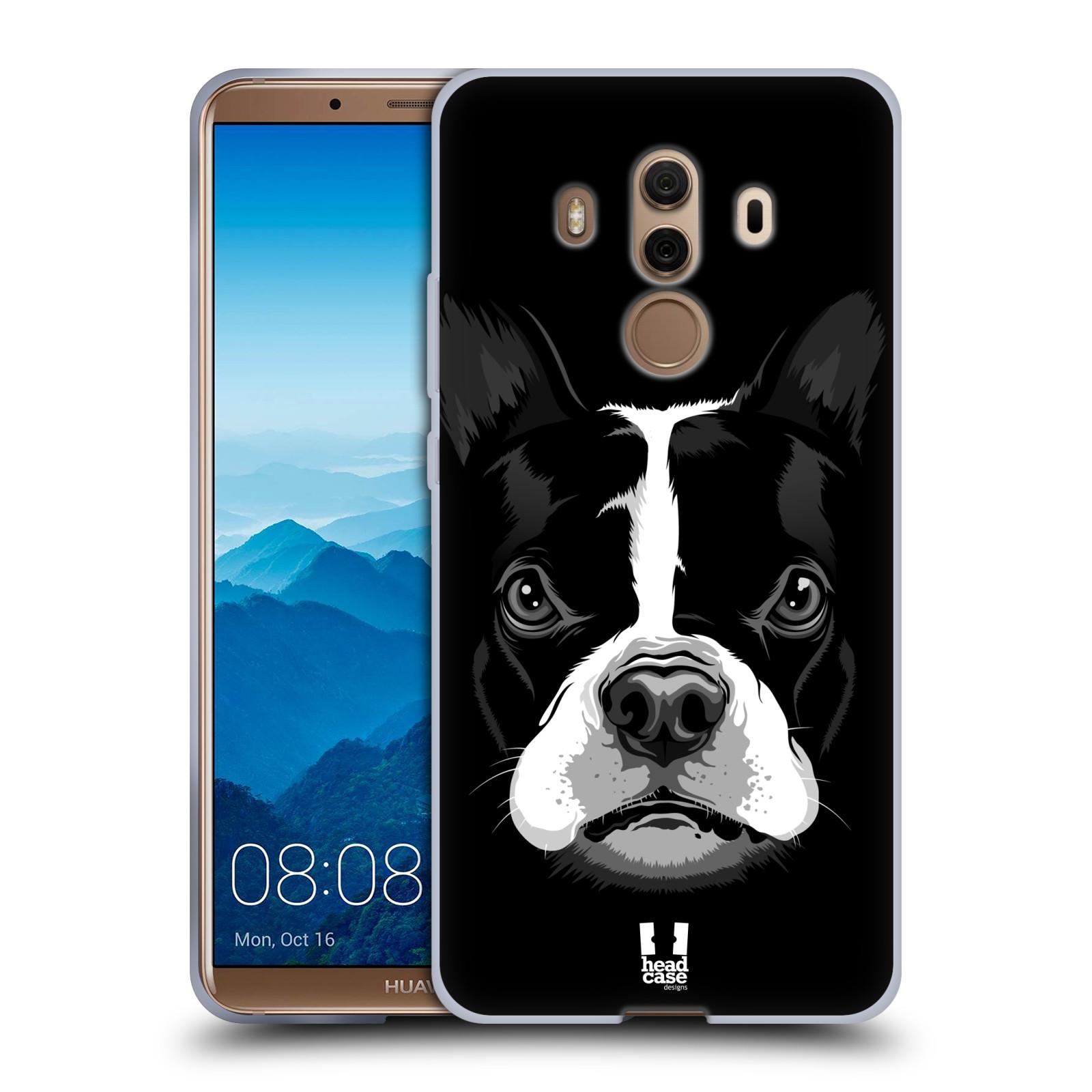 Silikonové pouzdro na mobil Huawei Mate 10 Pro - Head Case - ILUSTROVANÝ BULDOČEK