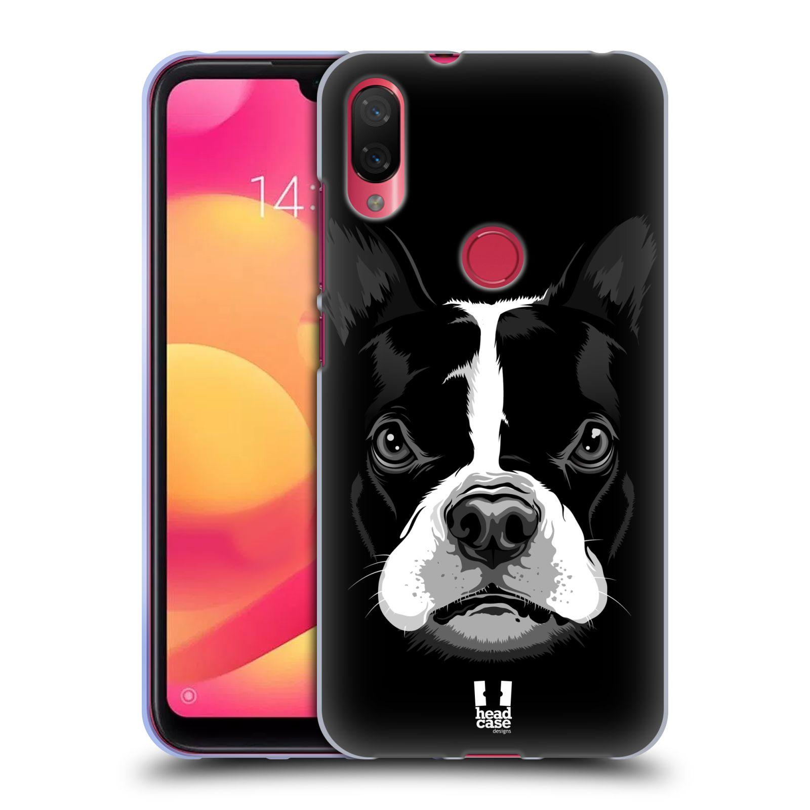 Silikonové pouzdro na mobil Xiaomi Mi Play - Head Case - ILUSTROVANÝ BULDOČEK