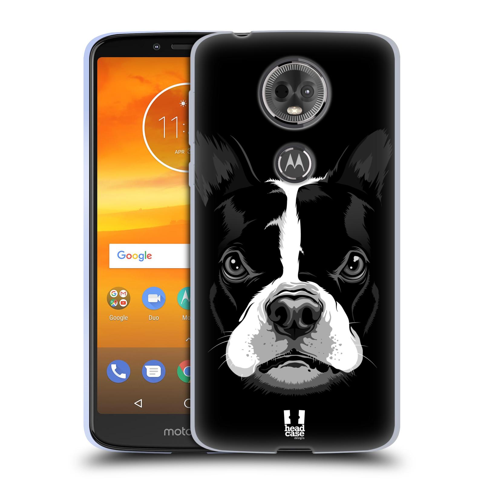 Silikonové pouzdro na mobil Motorola Moto E5 Plus - Head Case - ILUSTROVANÝ BULDOČEK