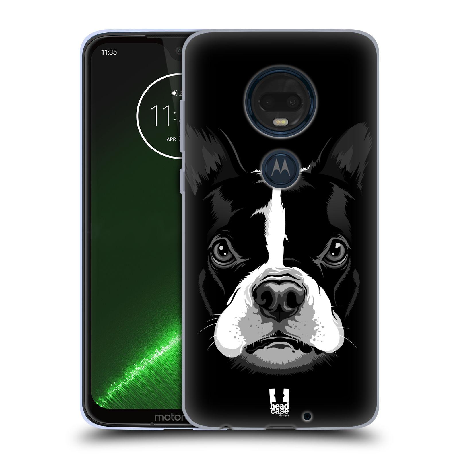 Silikonové pouzdro na mobil Motorola Moto G7 Plus - Head Case - ILUSTROVANÝ BULDOČEK