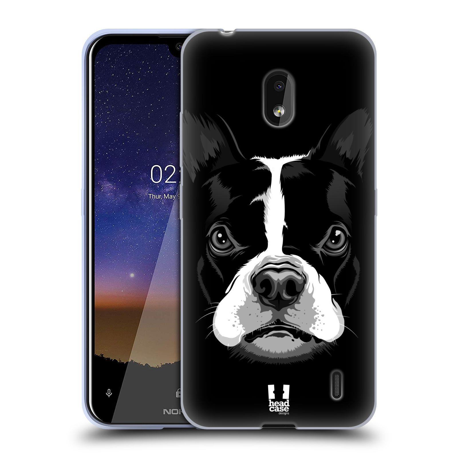 Silikonové pouzdro na mobil Nokia 2.2 - Head Case - ILUSTROVANÝ BULDOČEK