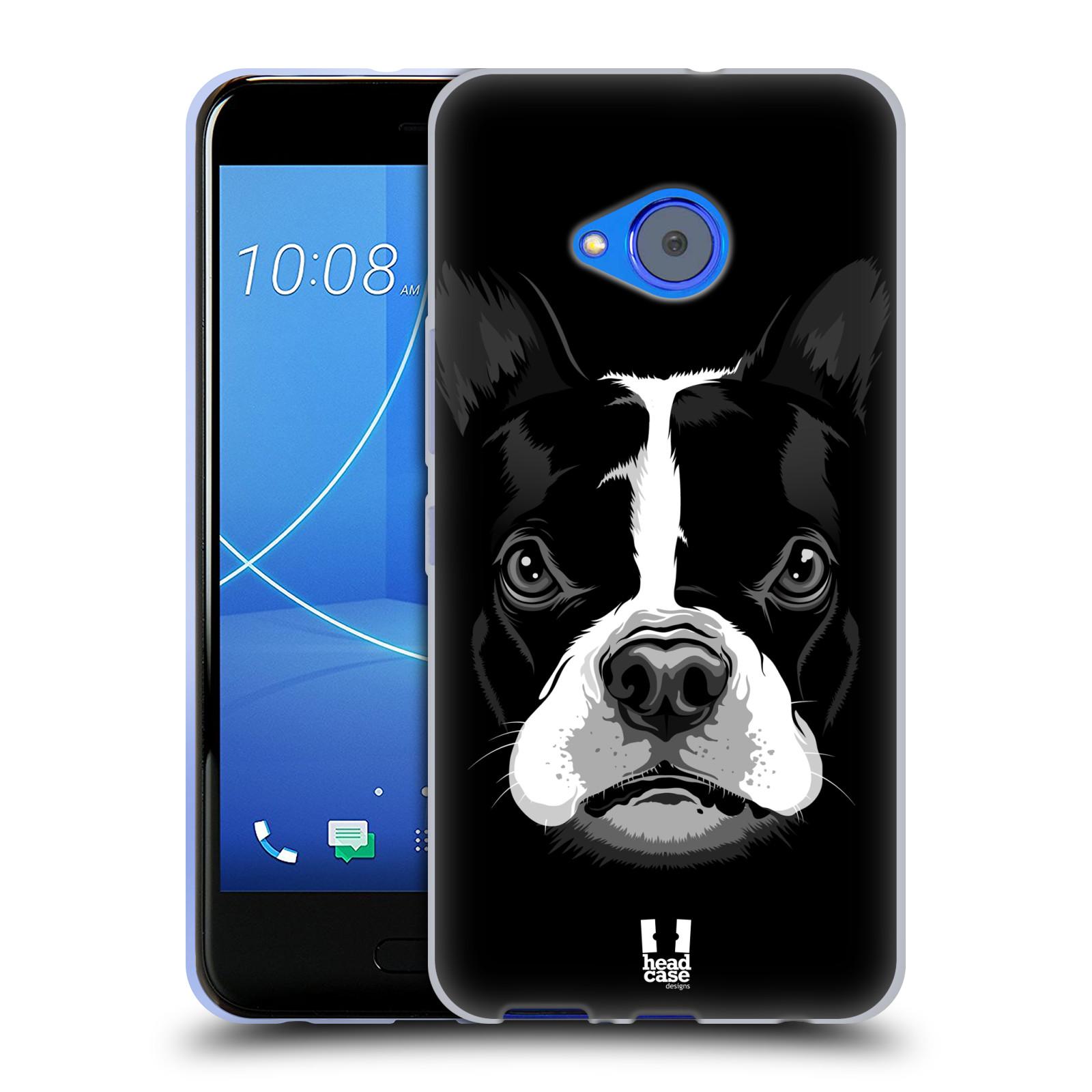 Silikonové pouzdro na mobil HTC U11 Life - Head Case - ILUSTROVANÝ BULDOČEK