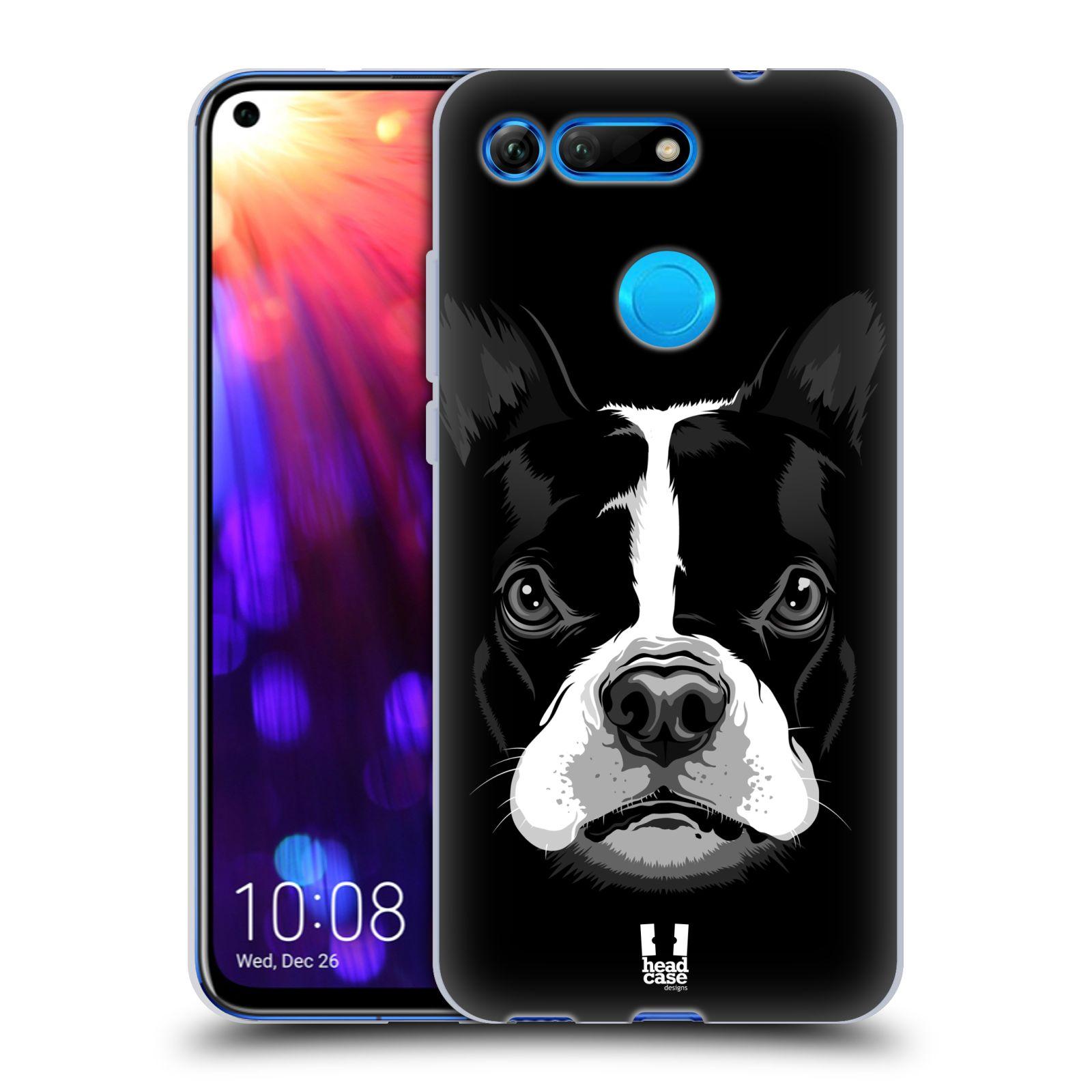 Silikonové pouzdro na mobil Honor View 20 - Head Case - ILUSTROVANÝ BULDOČEK