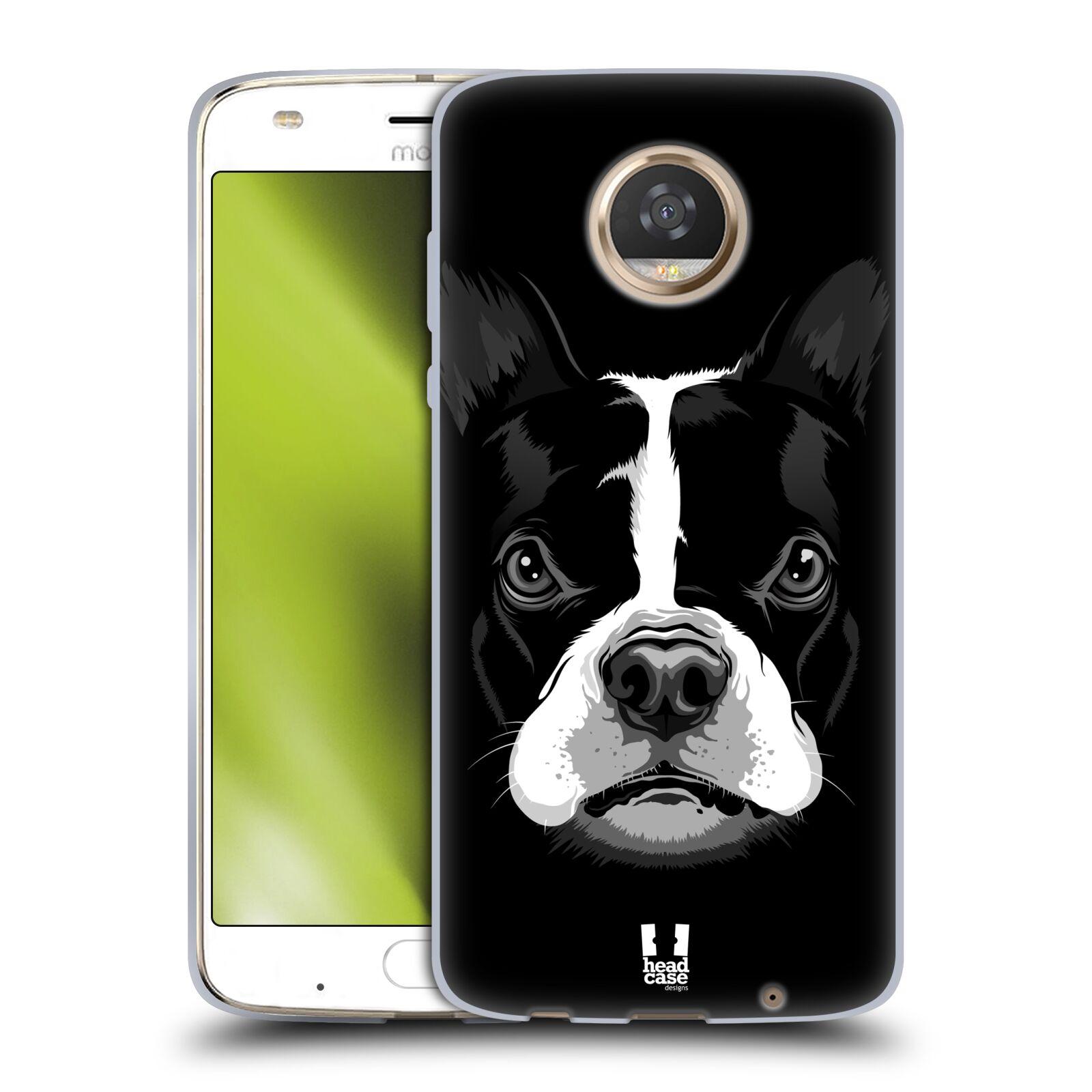 Silikonové pouzdro na mobil Lenovo Moto Z2 Play - Head Case - ILUSTROVANÝ BULDOČEK