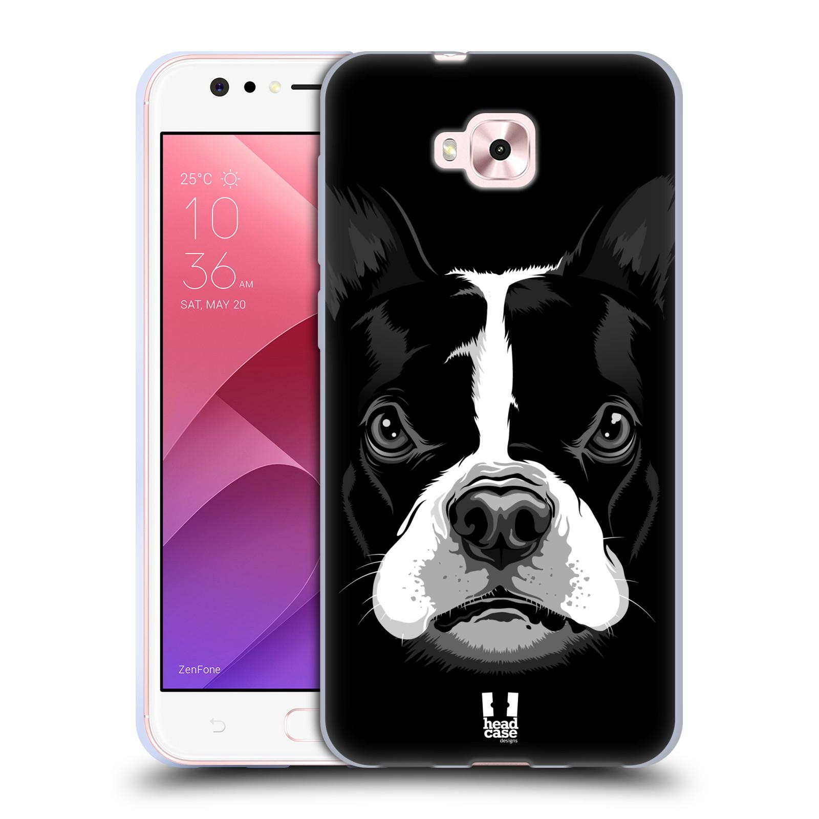 Silikonové pouzdro na mobil Asus Zenfone 4 Selfie ZD553KL - Head Case - ILUSTROVANÝ BULDOČEK