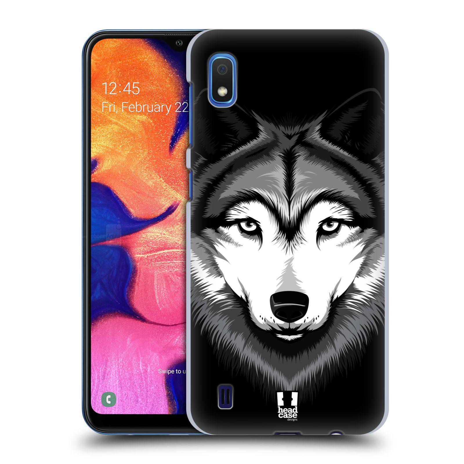 Plastové pouzdro na mobil Samsung Galaxy A10 - Head Case - ILUSTROVANÝ VLK