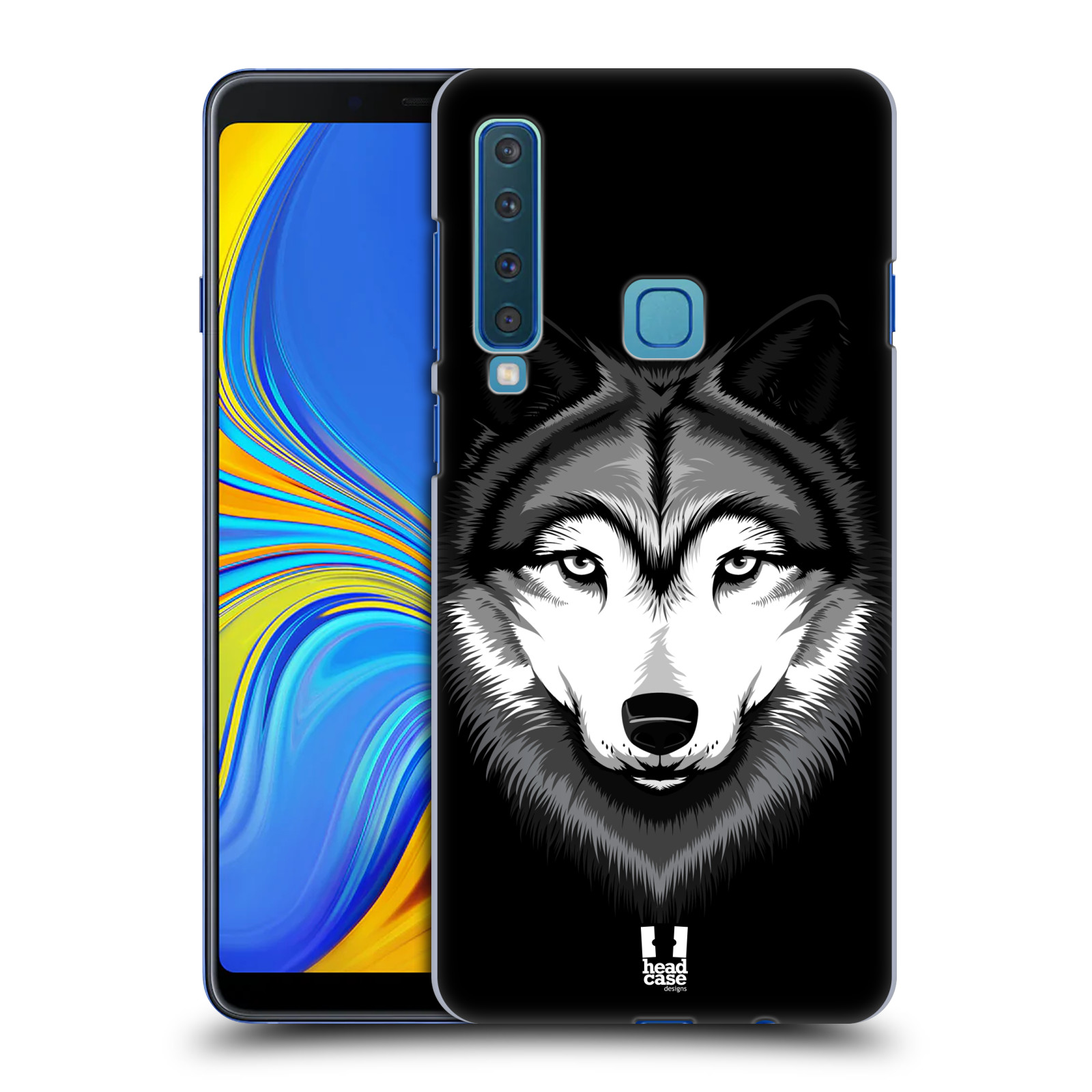 Plastové pouzdro na mobil Samsung Galaxy A9 (2018) - Head Case - ILUSTROVANÝ VLK