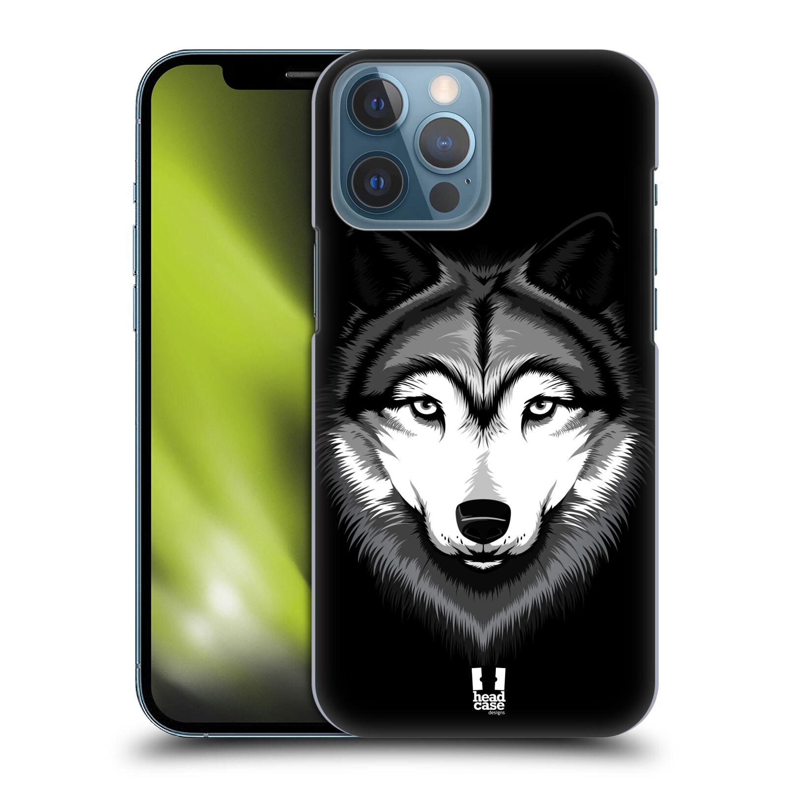 Plastové pouzdro na mobil Apple iPhone 13 Pro Max - Head Case - ILUSTROVANÝ VLK