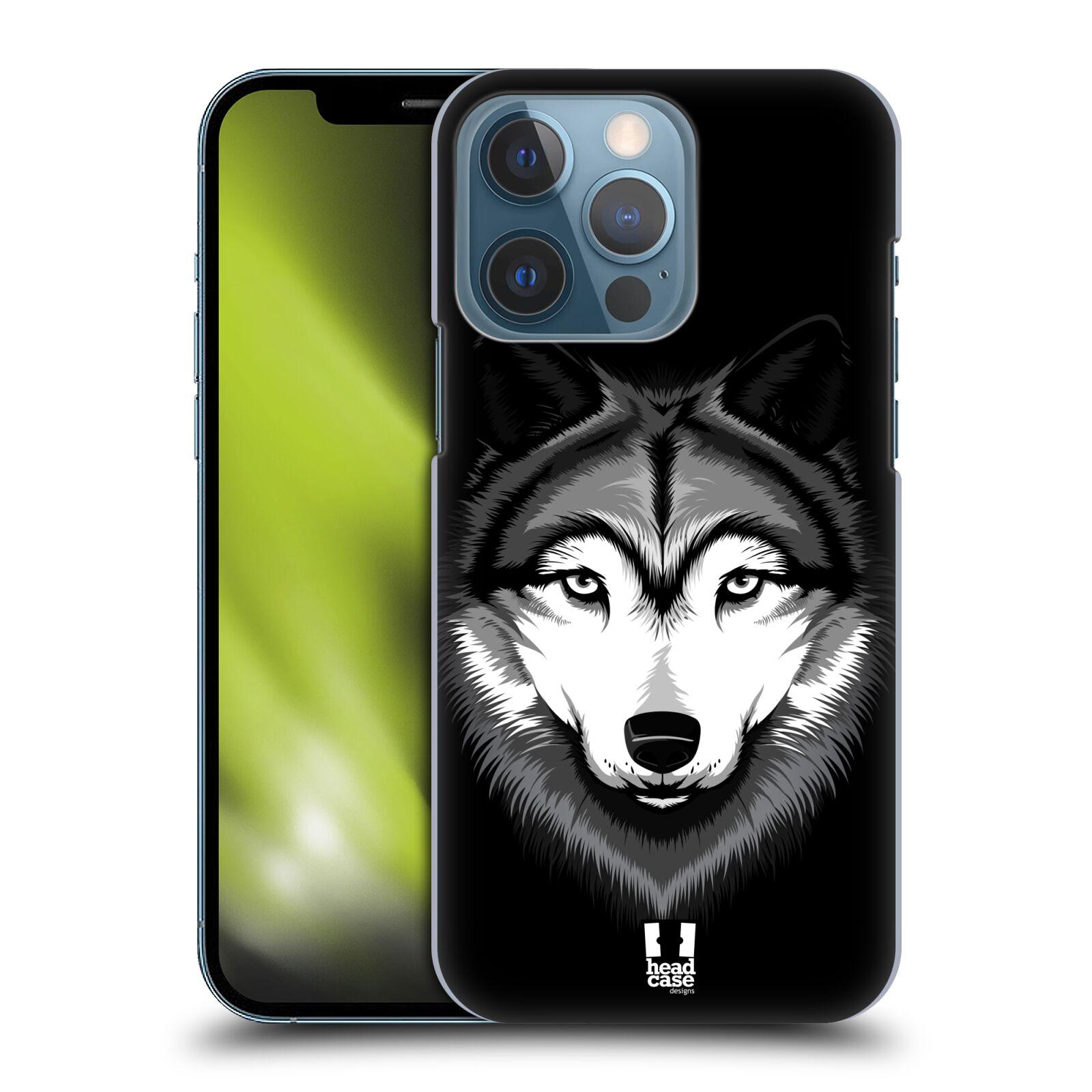 Plastové pouzdro na mobil Apple iPhone 13 Pro - Head Case - ILUSTROVANÝ VLK
