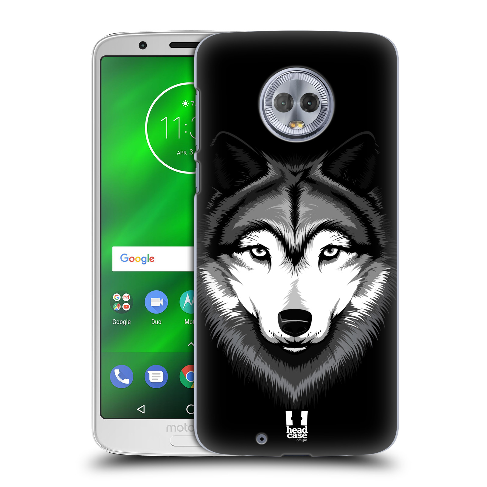 Plastové pouzdro na mobil Motorola Moto G6 - Head Case - ILUSTROVANÝ VLK