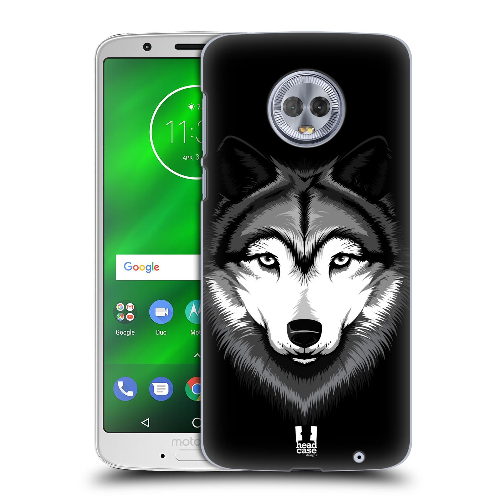 Plastové pouzdro na mobil Motorola Moto G6 Plus - Head Case - ILUSTROVANÝ VLK