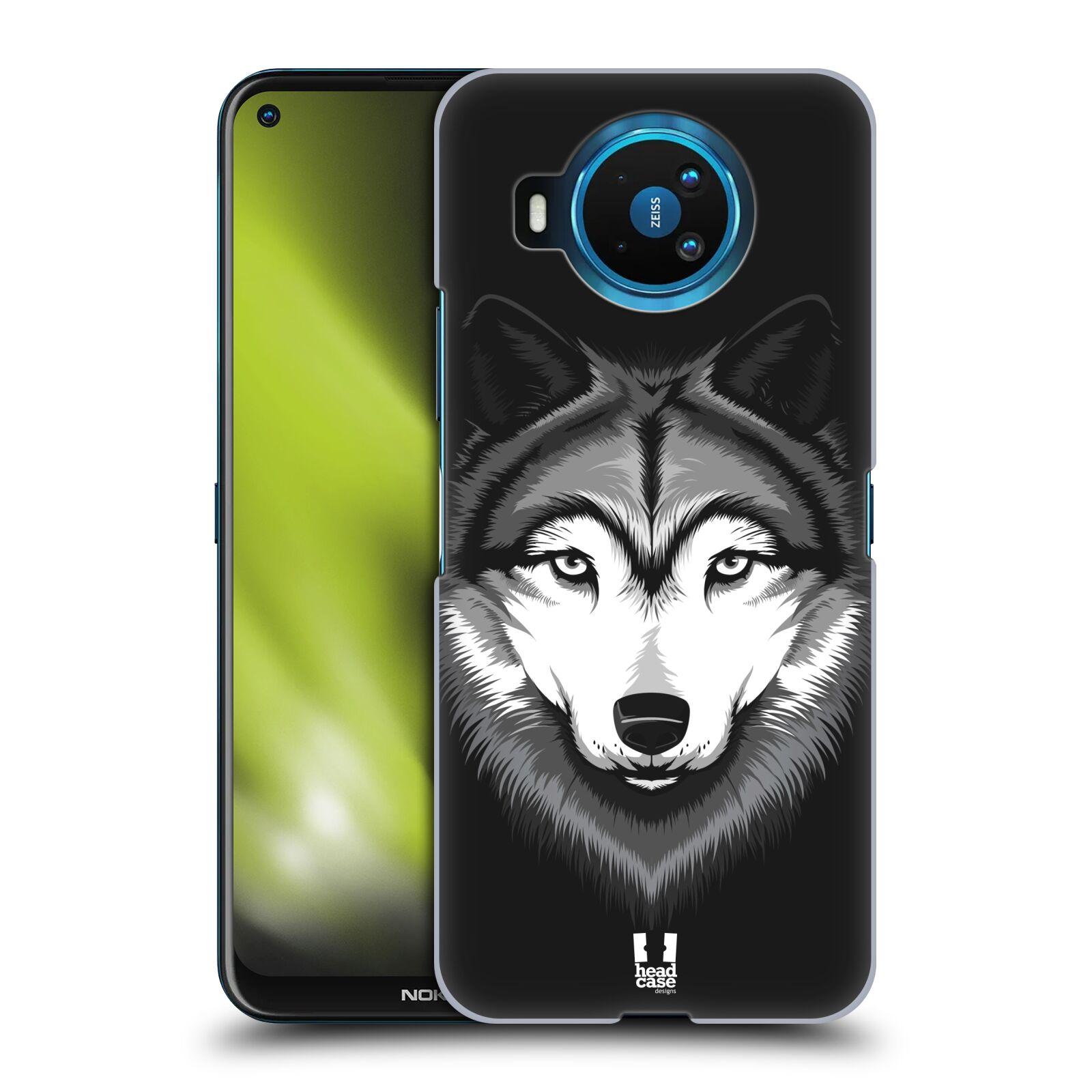 Plastové pouzdro na mobil Nokia 8.3 5G - Head Case - ILUSTROVANÝ VLK