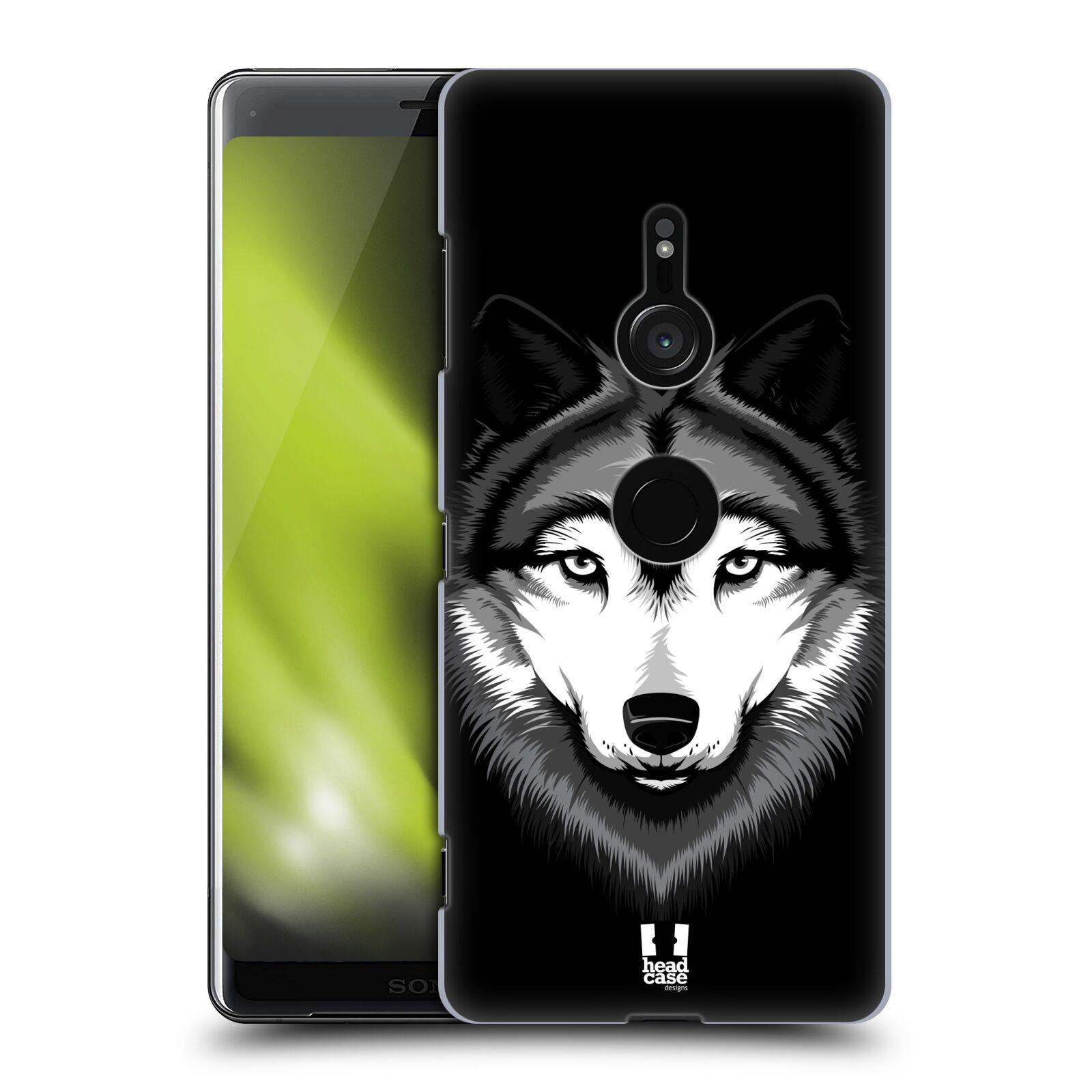 Plastové pouzdro na mobil Sony Xperia XZ3 - Head Case - ILUSTROVANÝ VLK