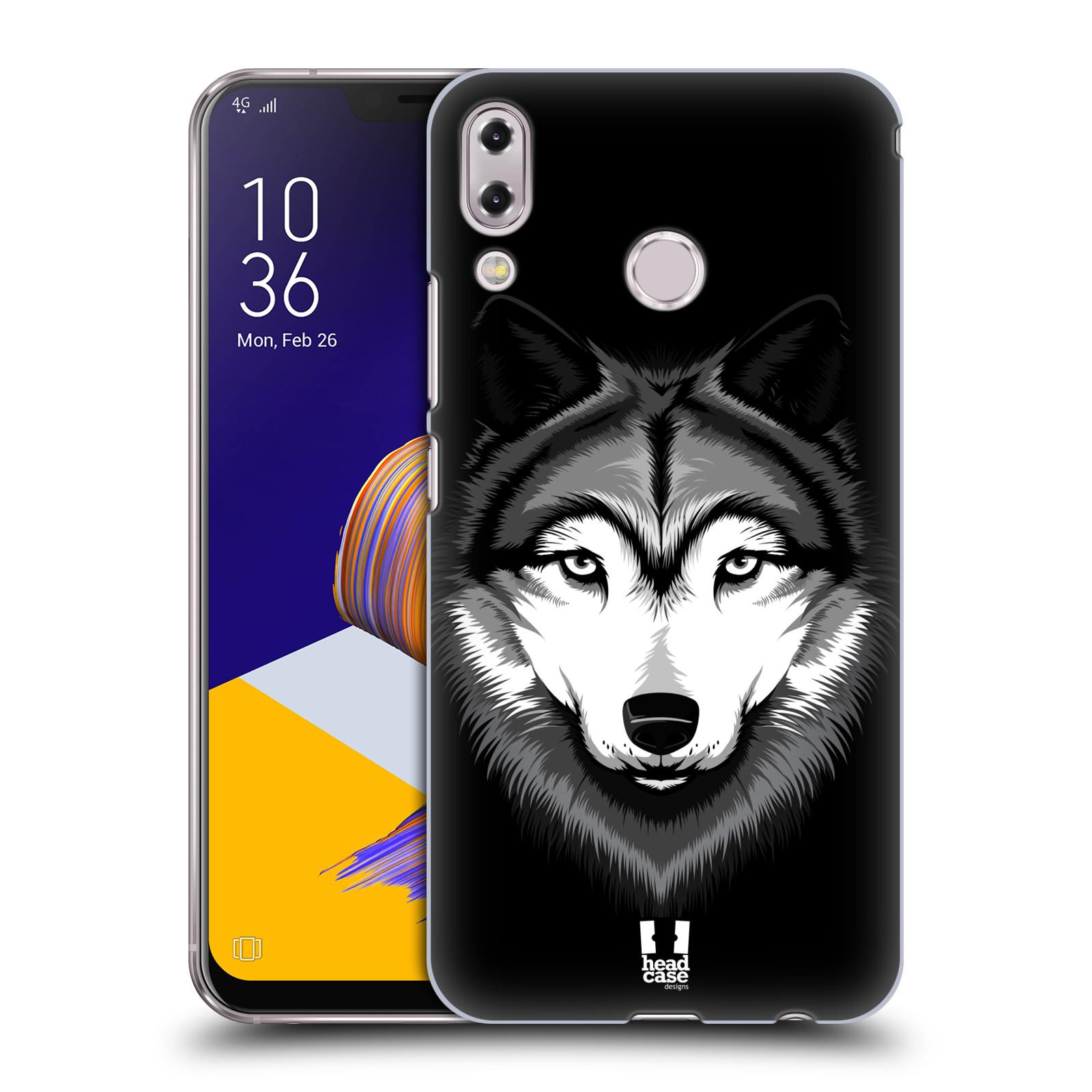 Plastové pouzdro na mobil Asus Zenfone 5z ZS620KL - Head Case - ILUSTROVANÝ VLK