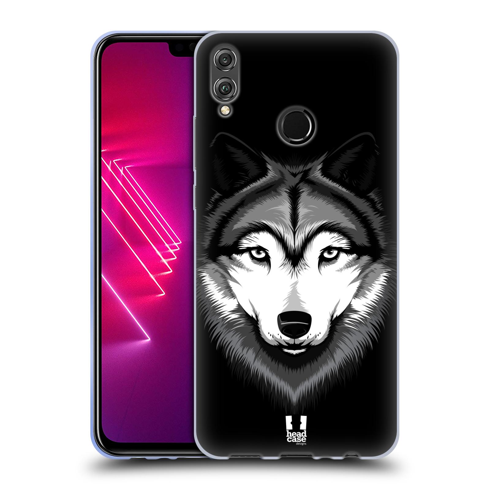 Silikonové pouzdro na mobil Honor View 10 Lite - Head Case - ILUSTROVANÝ VLK