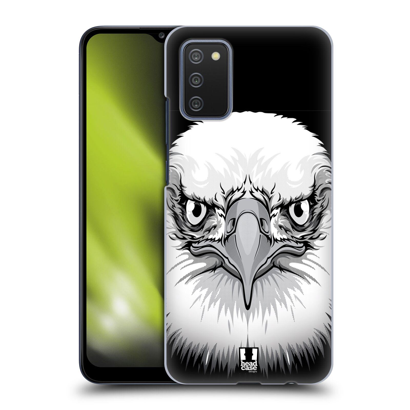 Plastové pouzdro na mobil Samsung Galaxy A02s - Head Case - ILUSTROVANÝ OREL