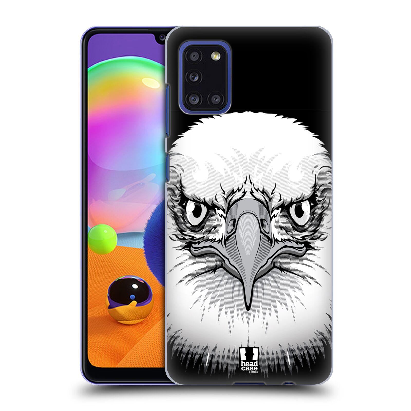 Plastové pouzdro na mobil Samsung Galaxy A31 - Head Case - ILUSTROVANÝ OREL