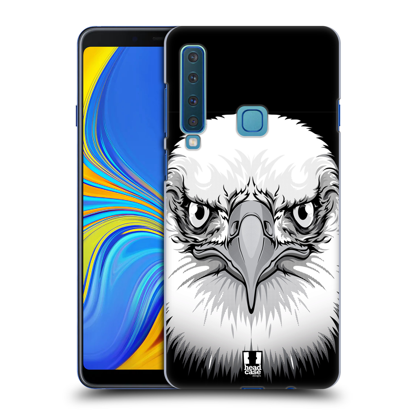 Plastové pouzdro na mobil Samsung Galaxy A9 (2018) - Head Case - ILUSTROVANÝ OREL