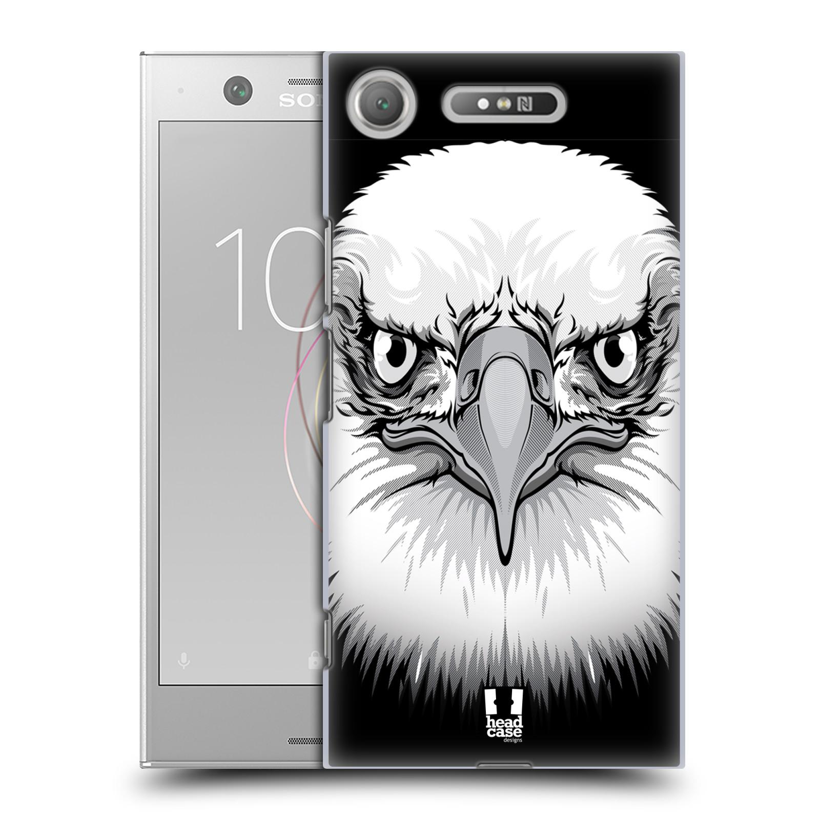 Plastové pouzdro na mobil Sony Xperia XZ1 - Head Case - ILUSTROVANÝ OREL