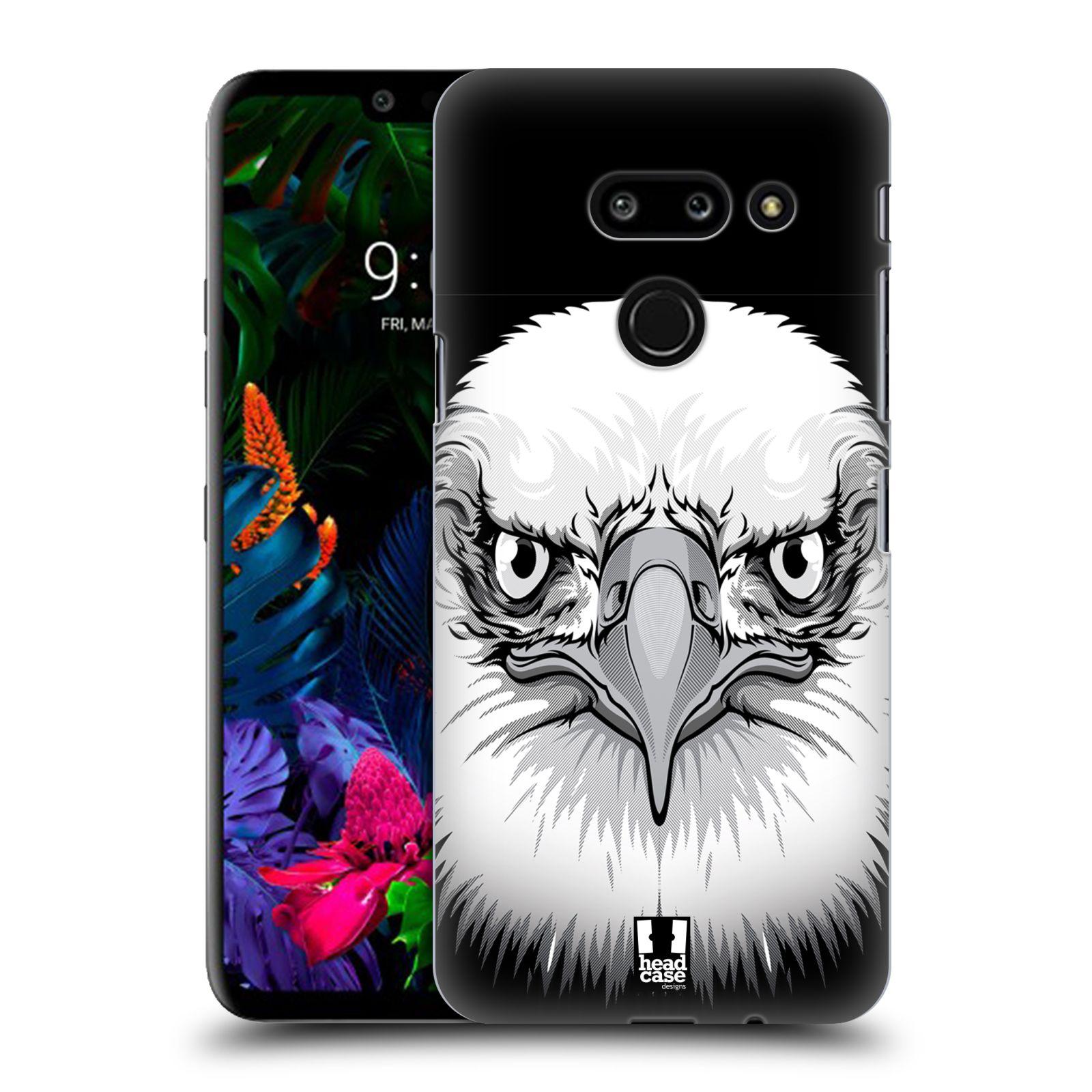 Plastové pouzdro na mobil LG G8 ThinQ - Head Case - ILUSTROVANÝ OREL