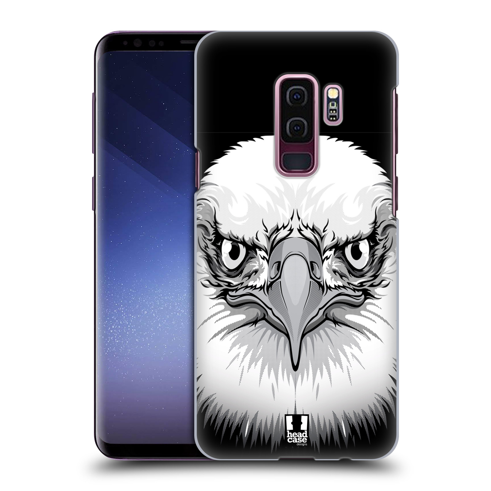 Plastové pouzdro na mobil Samsung Galaxy S9 Plus - Head Case - ILUSTROVANÝ OREL