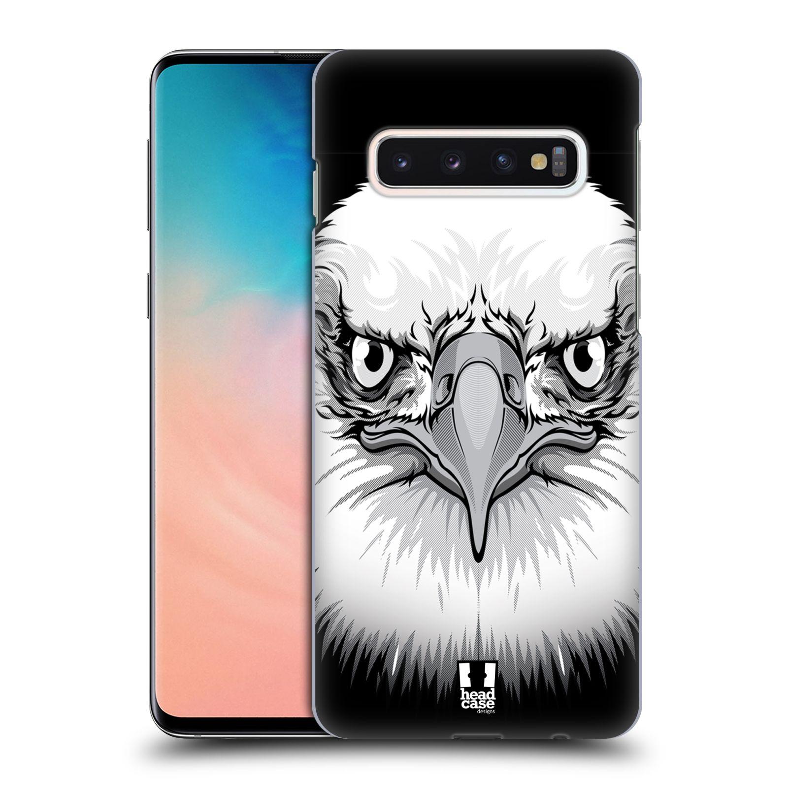 Plastové pouzdro na mobil Samsung Galaxy S10 - Head Case - ILUSTROVANÝ OREL