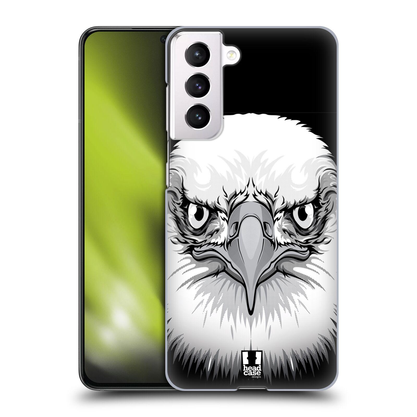 Plastové pouzdro na mobil Samsung Galaxy S21 5G - Head Case - ILUSTROVANÝ OREL