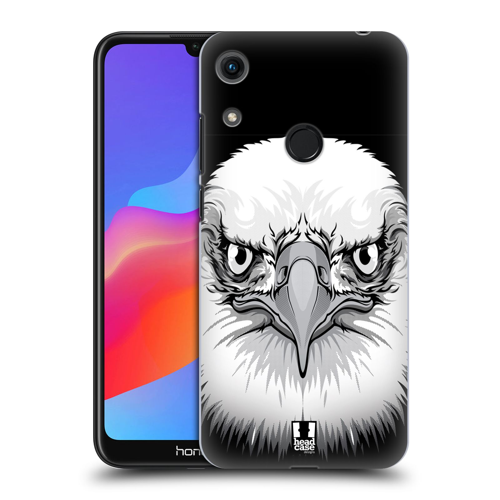 Plastové pouzdro na mobil Honor 8A - Head Case - ILUSTROVANÝ OREL
