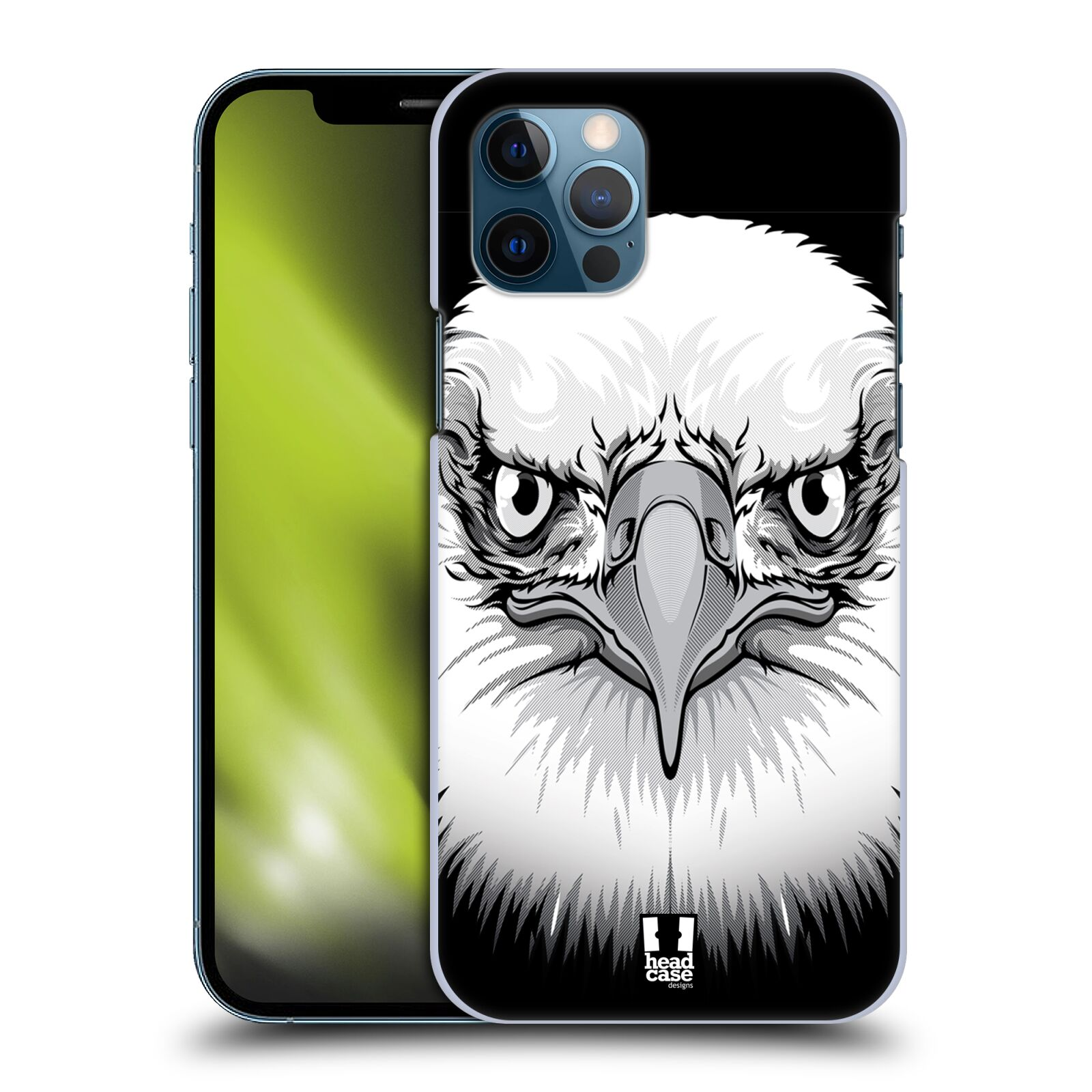 Plastové pouzdro na mobil Apple iPhone 12 / 12 Pro - Head Case - ILUSTROVANÝ OREL
