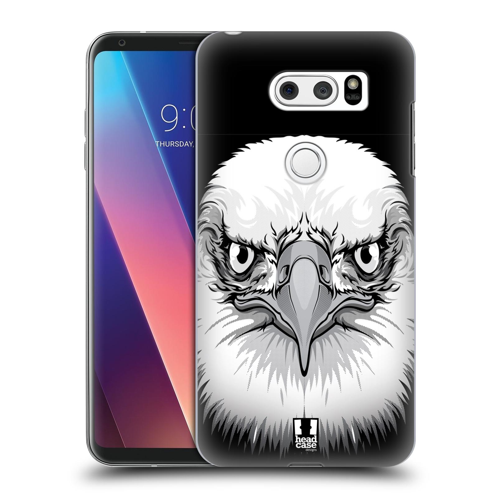 Plastové pouzdro na mobil LG V30 - Head Case - ILUSTROVANÝ OREL
