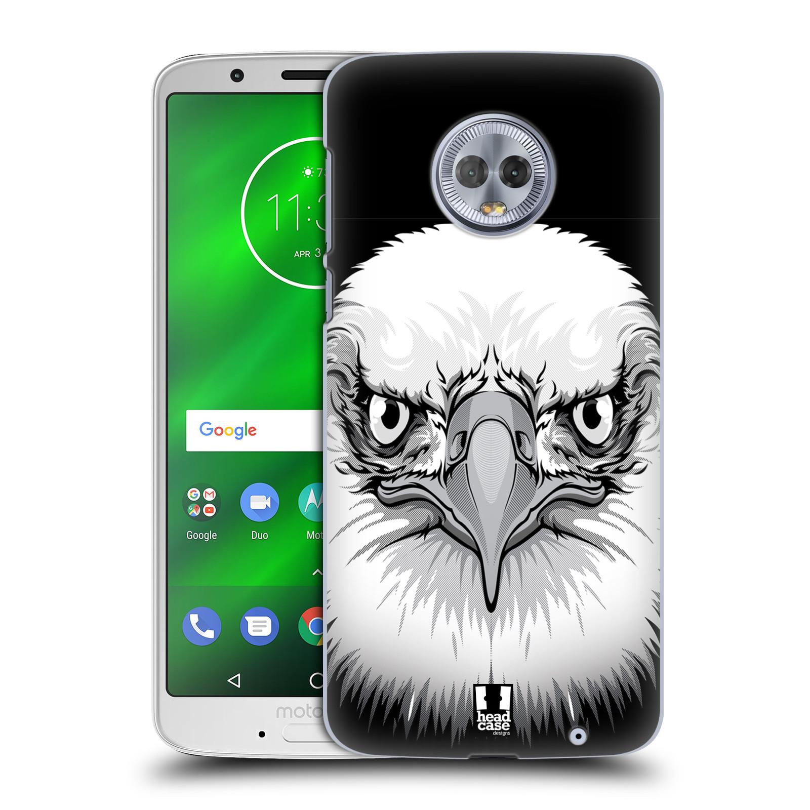 Plastové pouzdro na mobil Motorola Moto G6 Plus - Head Case - ILUSTROVANÝ OREL
