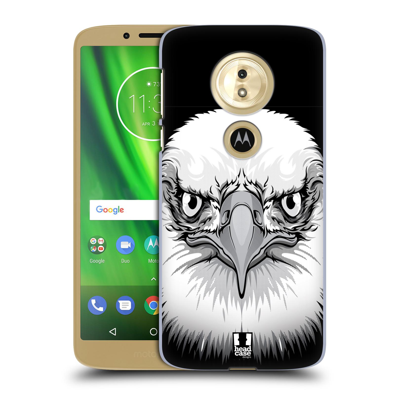 Plastové pouzdro na mobil Motorola Moto G6 Play - Head Case - ILUSTROVANÝ OREL