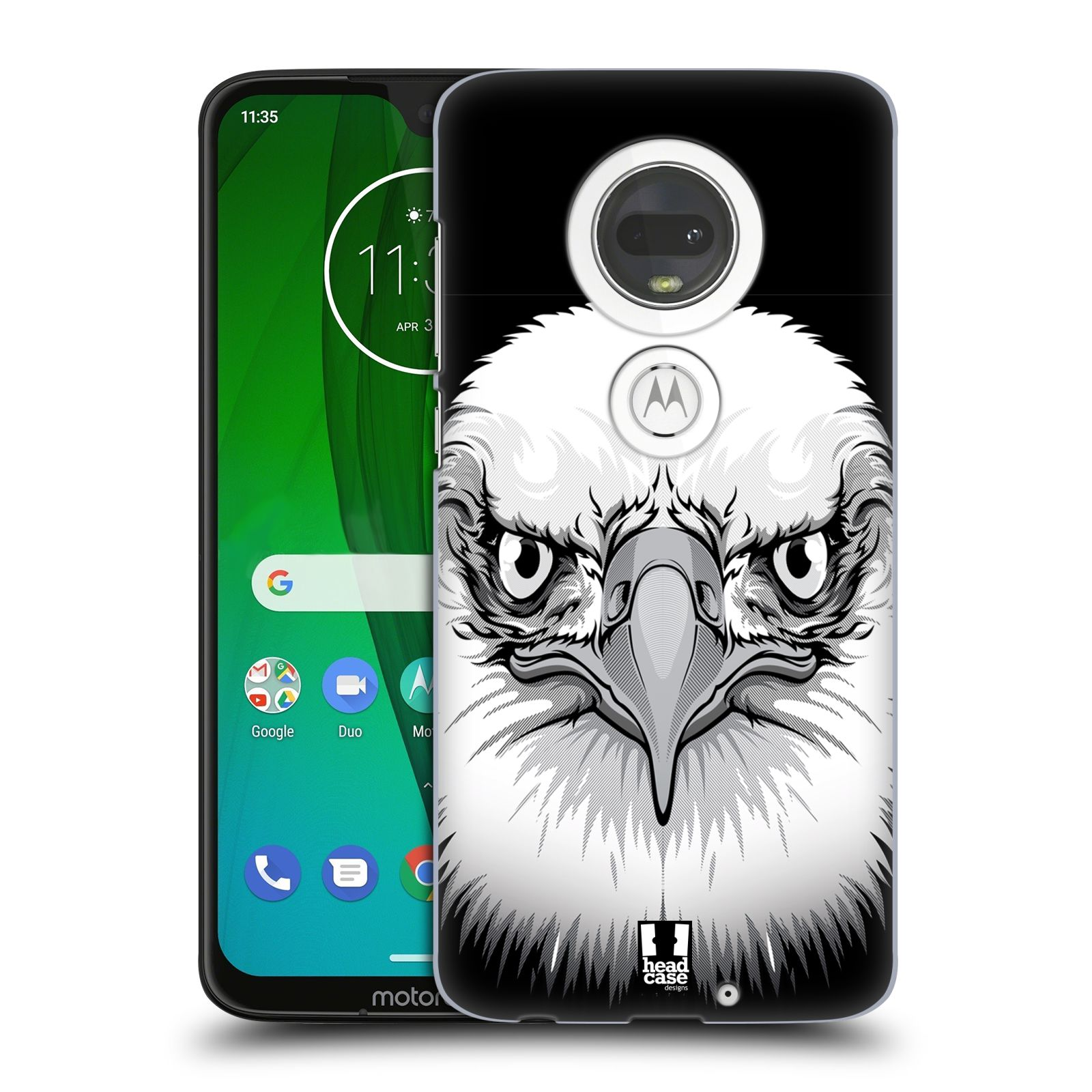 Plastové pouzdro na mobil Motorola Moto G7 - Head Case - ILUSTROVANÝ OREL