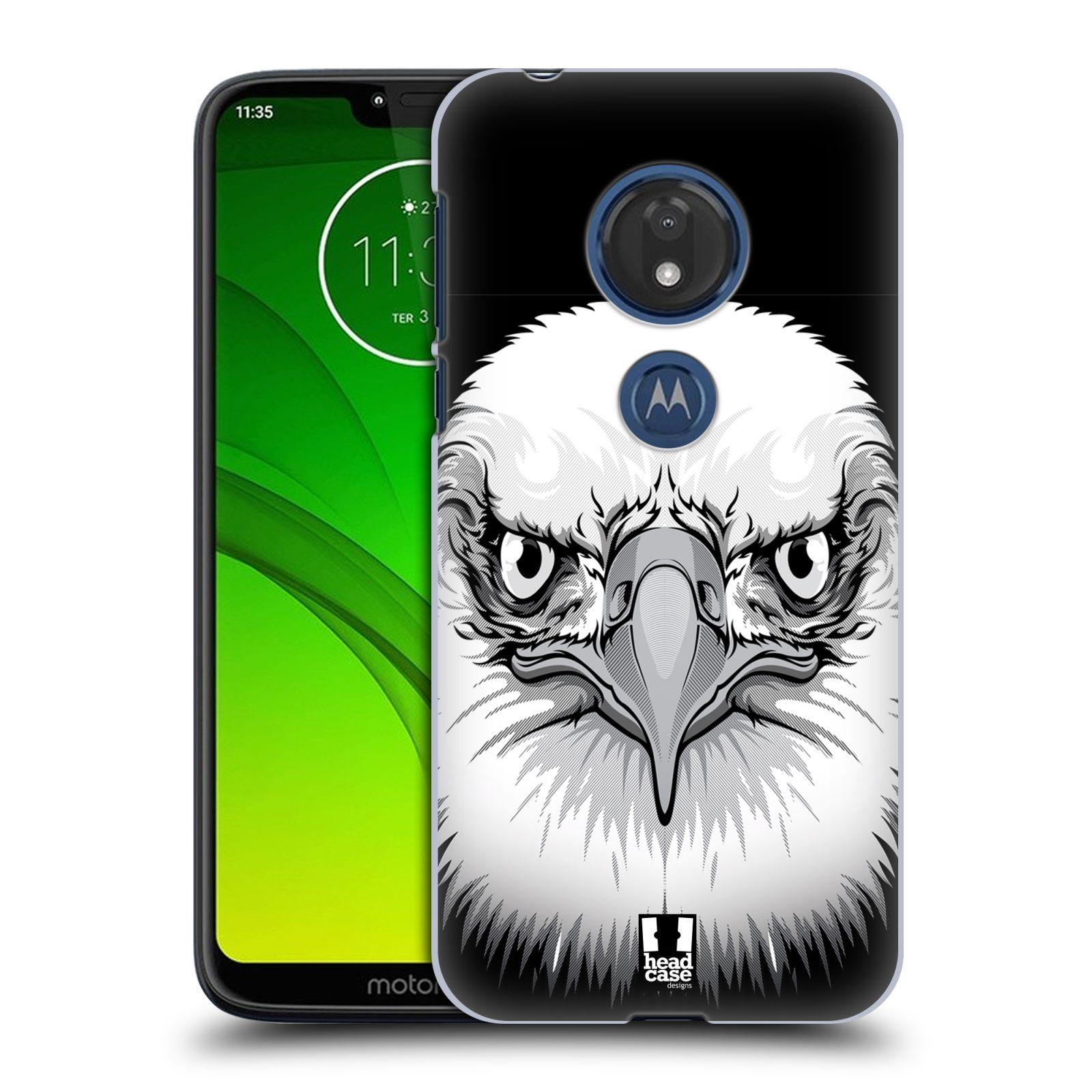 Plastové pouzdro na mobil Motorola Moto G7 Play - Head Case - ILUSTROVANÝ OREL