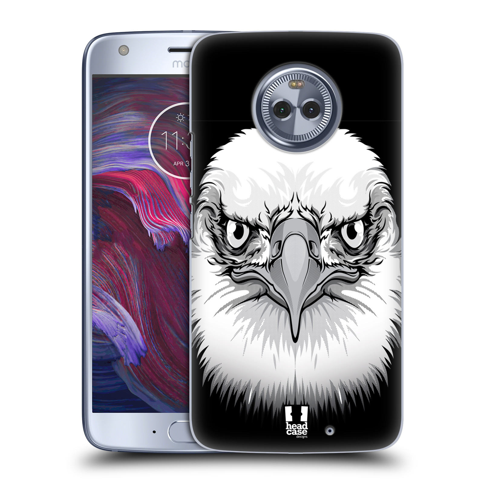 Plastové pouzdro na mobil Lenovo Moto X4 - Head Case - ILUSTROVANÝ OREL
