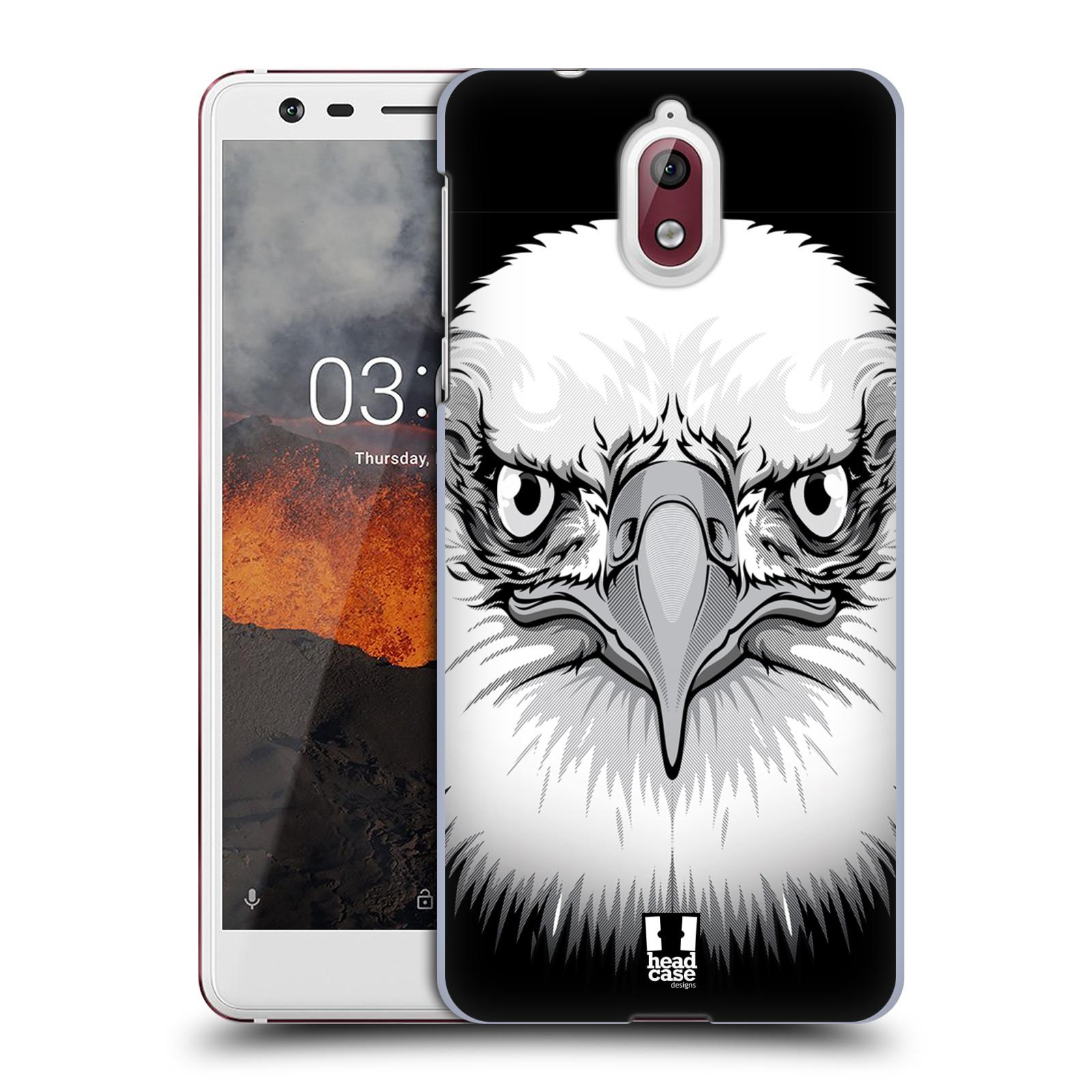 Plastové pouzdro na mobil Nokia 3.1 - Head Case - ILUSTROVANÝ OREL