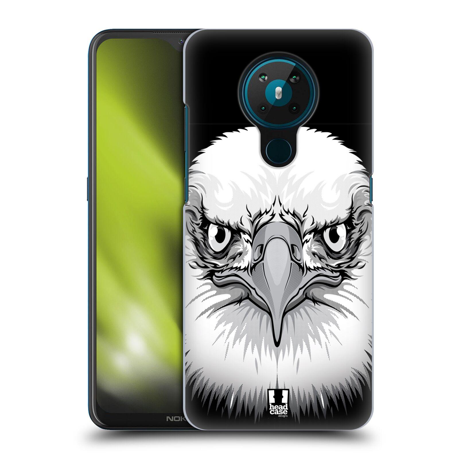 Plastové pouzdro na mobil Nokia 5.3 - Head Case - ILUSTROVANÝ OREL