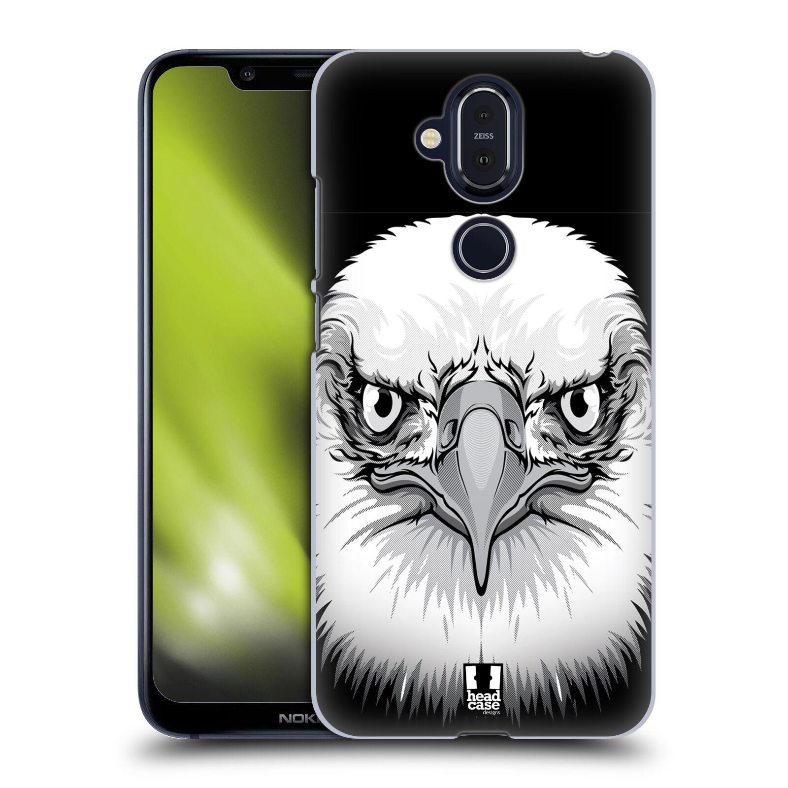Plastové pouzdro na mobil Nokia 8.1 - Head Case - ILUSTROVANÝ OREL