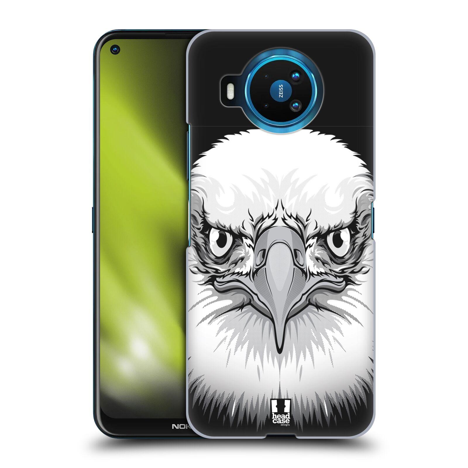 Plastové pouzdro na mobil Nokia 8.3 5G - Head Case - ILUSTROVANÝ OREL