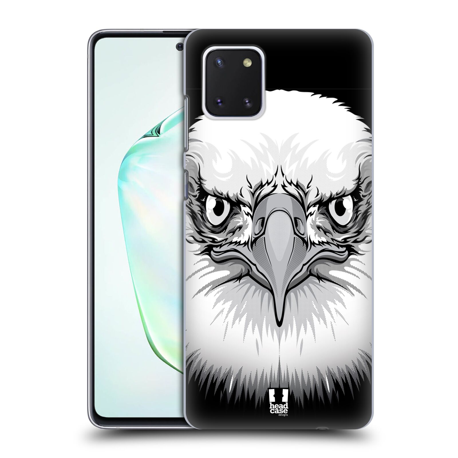 Plastové pouzdro na mobil Samsung Galaxy Note 10 Lite - Head Case - ILUSTROVANÝ OREL
