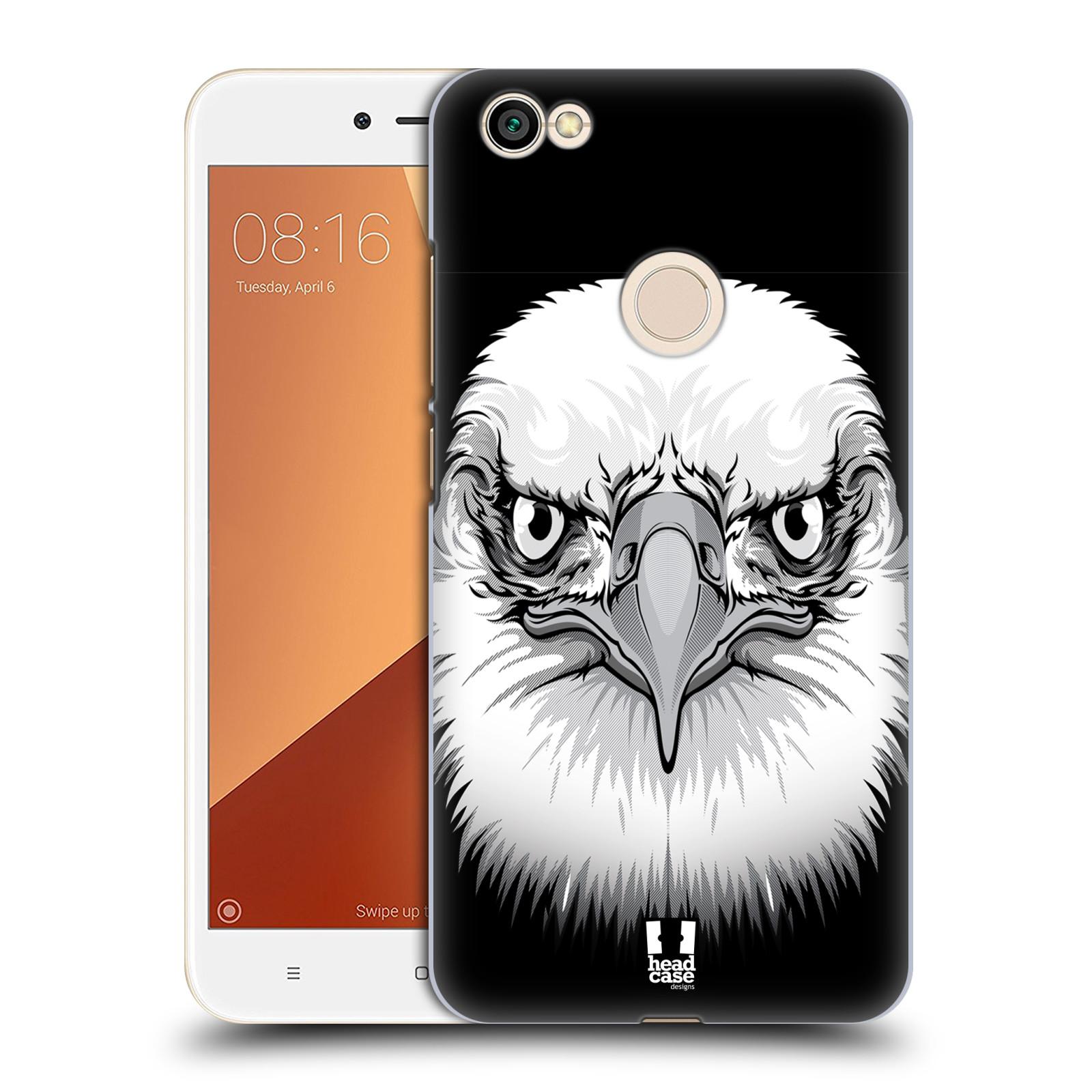 Plastové pouzdro na mobil Xiaomi Redmi Note 5A Prime - Head Case - ILUSTROVANÝ OREL