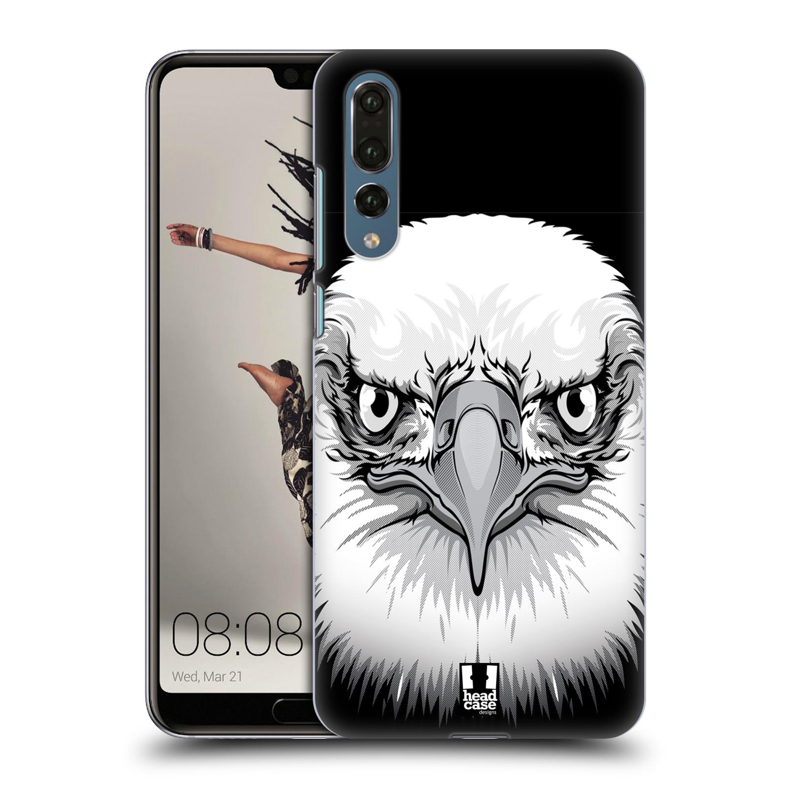 Plastové pouzdro na mobil Huawei P20 Pro - Head Case - ILUSTROVANÝ OREL