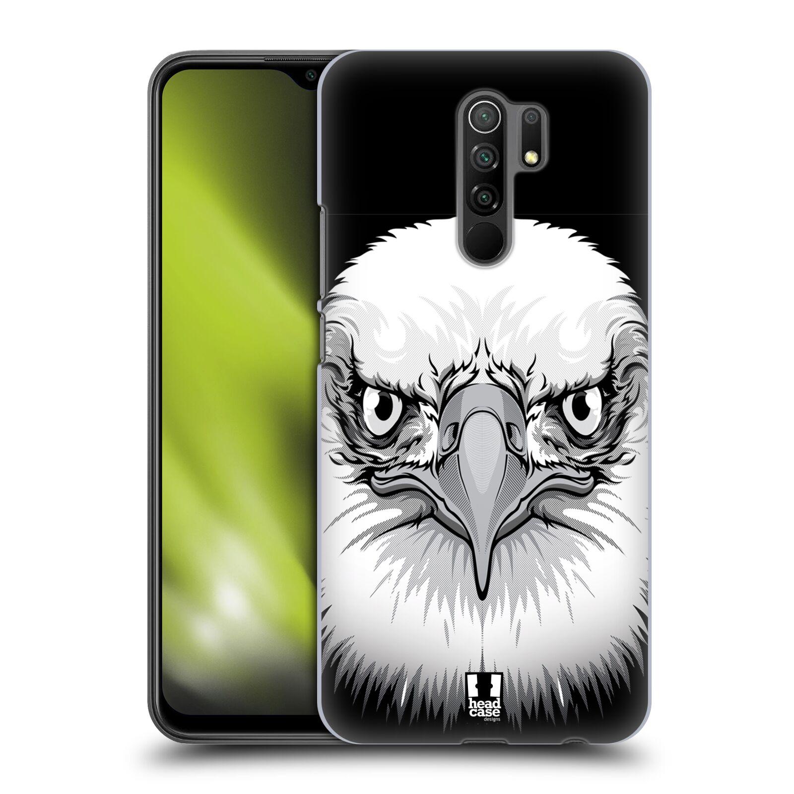 Plastové pouzdro na mobil Xiaomi Redmi 9 - Head Case - ILUSTROVANÝ OREL