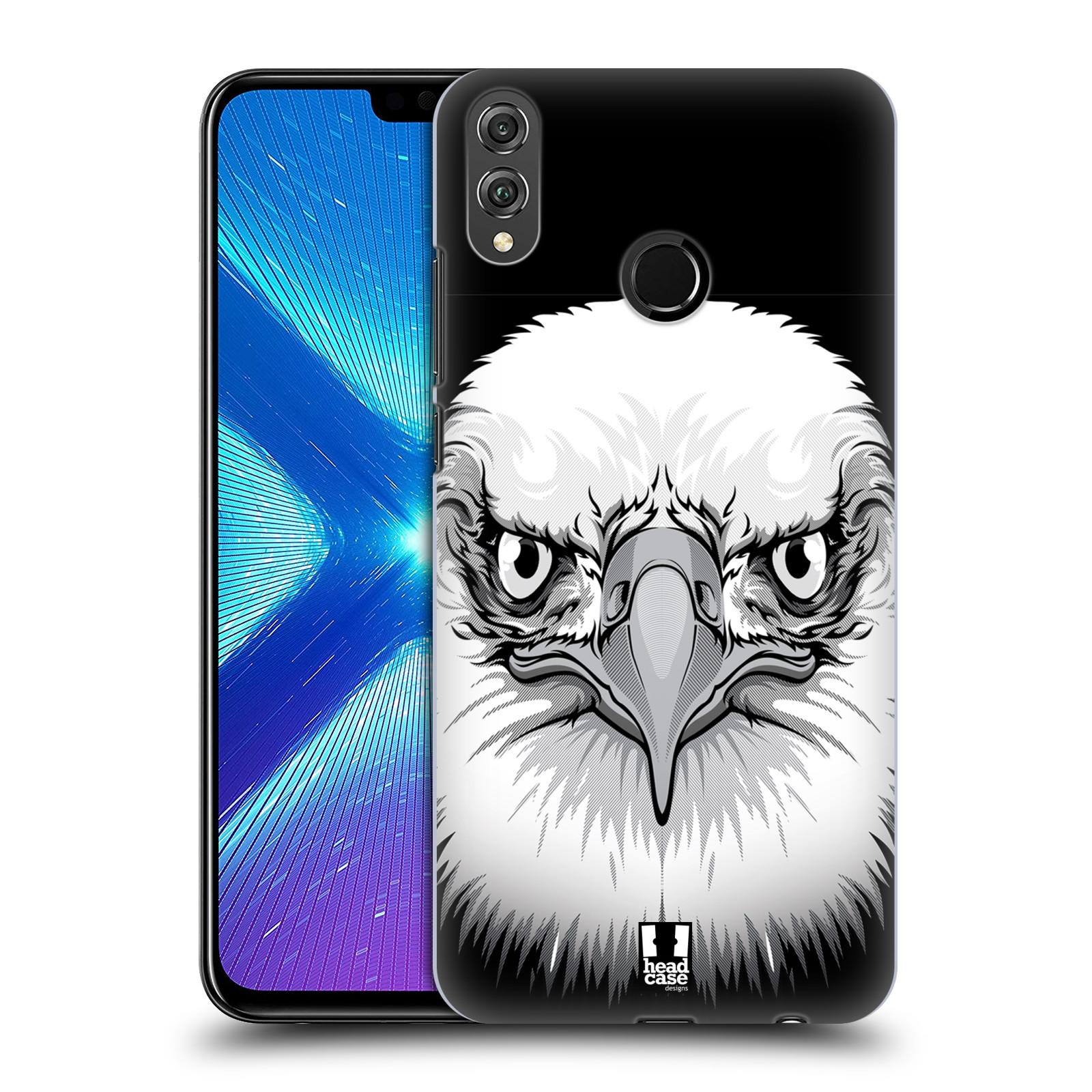 Plastové pouzdro na mobil Honor 8X - Head Case - ILUSTROVANÝ OREL