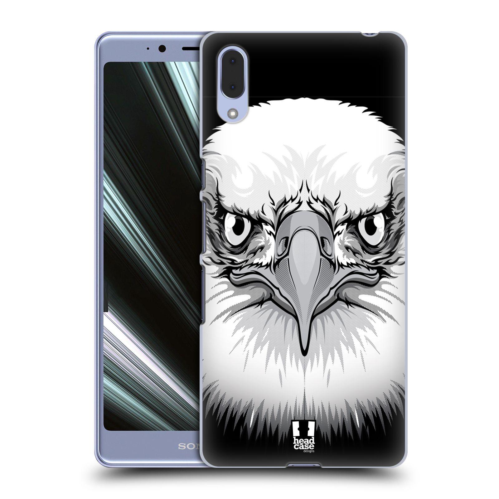 Plastové pouzdro na mobil Sony Xperia L3 - Head Case - ILUSTROVANÝ OREL