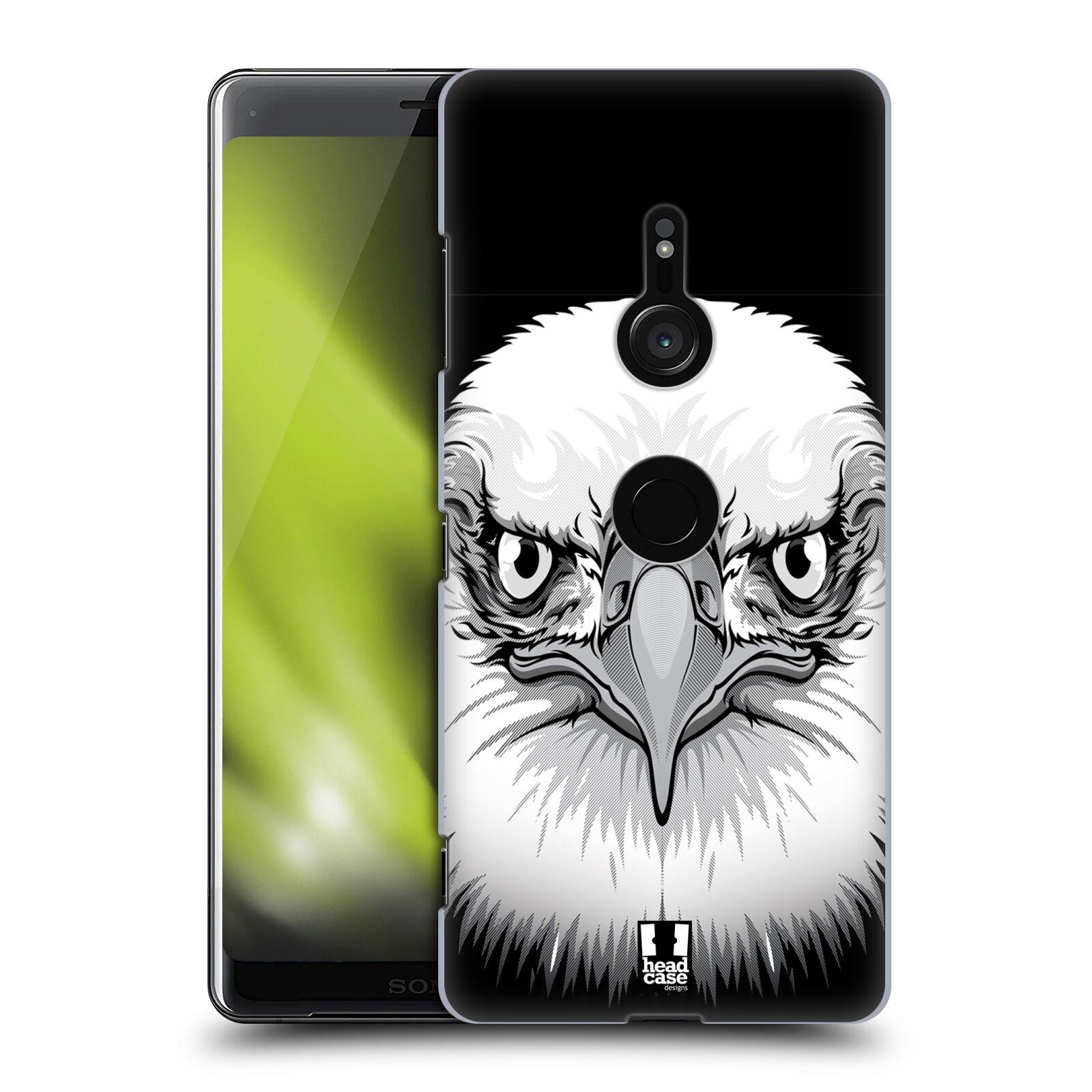 Plastové pouzdro na mobil Sony Xperia XZ3 - Head Case - ILUSTROVANÝ OREL