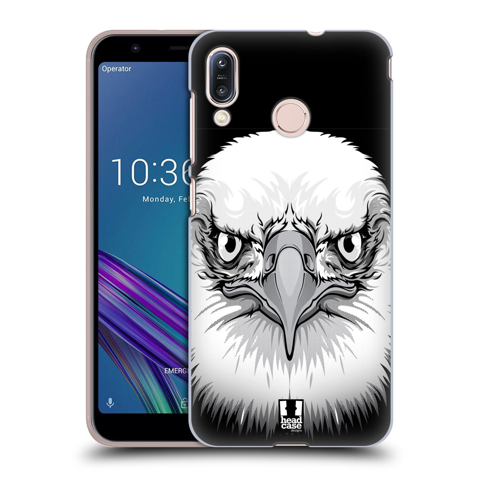 Plastové pouzdro na mobil Asus Zenfone Max M1 ZB555KL - Head Case - ILUSTROVANÝ OREL