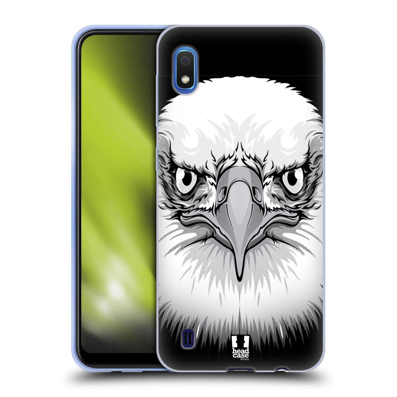 Silikonové pouzdro na mobil Samsung Galaxy A10 - Head Case - ILUSTROVANÝ OREL