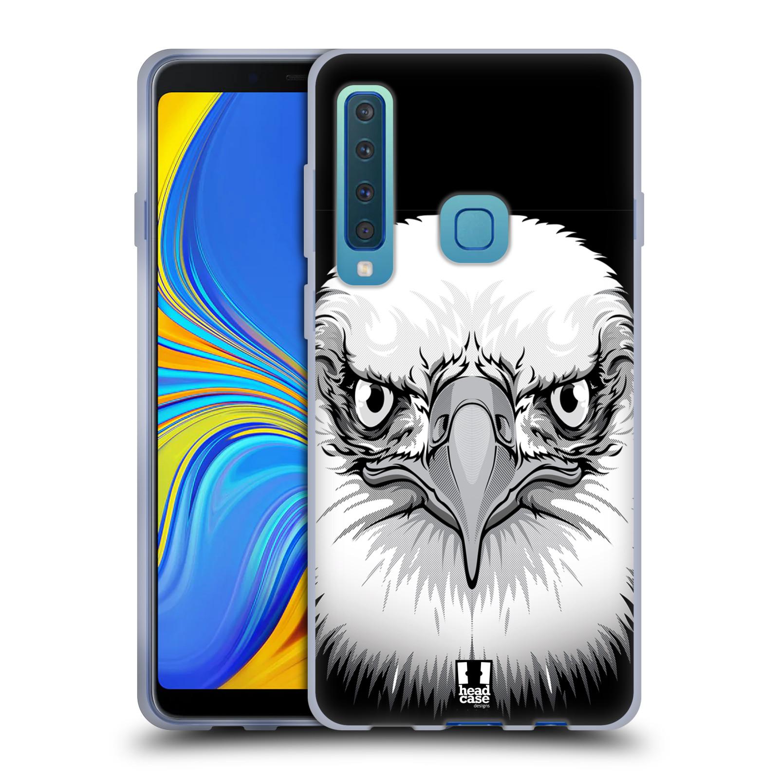 Silikonové pouzdro na mobil Samsung Galaxy A9 (2018) - Head Case - ILUSTROVANÝ OREL