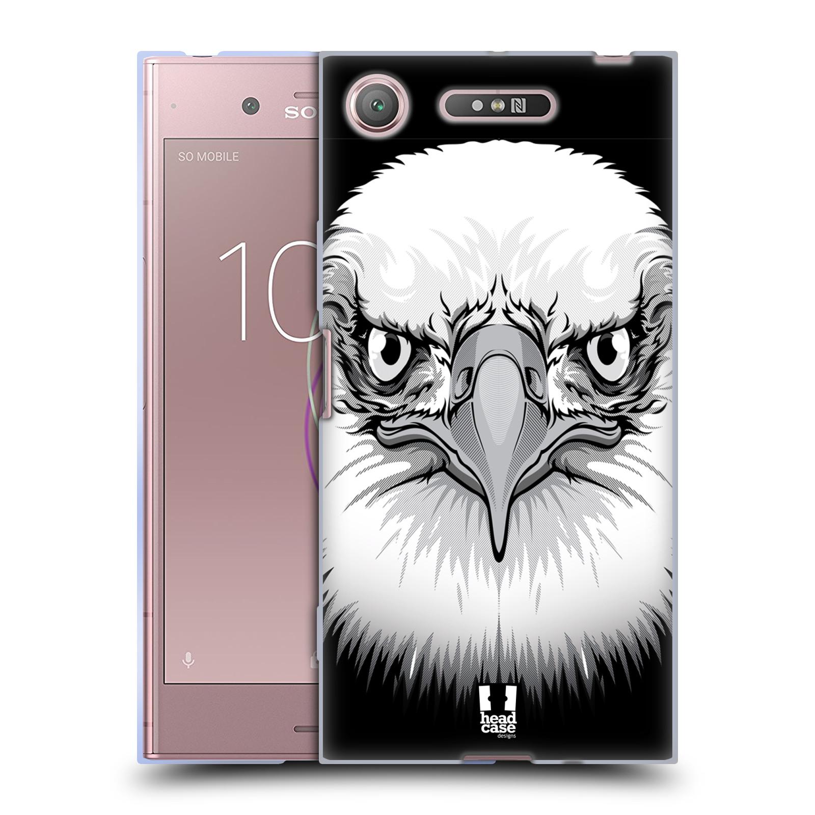 Silikonové pouzdro na mobil Sony Xperia XZ1 - Head Case - ILUSTROVANÝ OREL